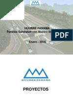 Panel Sandwich Huurre Panama
