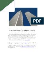 Ground Zero and the Truth