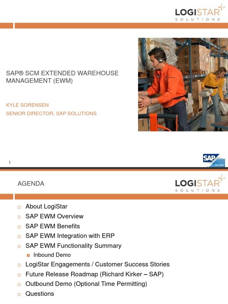 SAP EWM-NEW | Warehouse | Enterprise Resource Planning