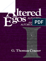 [G. Thomas Couser] Altered Egos Authority in Amer