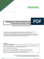 Listado de Protecciones TOV_2010_5