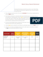 Wants Vs Needs Worksheet.pdf