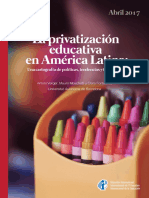 La privatización educativa en América Latina
