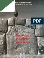 Sociedad y Estado en El Perú