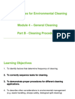 ECT Cleaning Procedures PowerPoint 2013