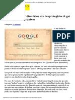 Como Encontrar Diretórios Site Desprotegidos & Get _interessante_ Arquivos