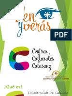 presentación centros culturales