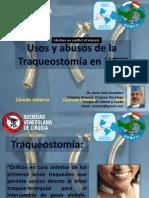 a46-Traqueostomia Usos y Abusos -Dr Tata