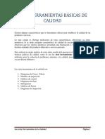 SIETE HERRAMIENTAS BÁSICAS DE CALIDAD