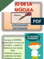 Las Mayusculas 3