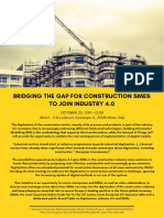 Bridging the gap for construction SMEs to join industry 4.0