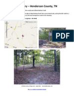 Prospect Cemetery (Black Bottom Creek) - Henderson County, TN