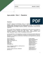 NCh409 - Agua Potable (Chile).pdf
