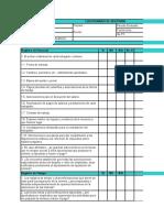 Plantilla de Cuestionario de Auditoria