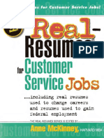 Real Resumes for Customer Service Jobs by Anne McKinney