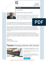 Emerging Markets M&a Insider - April 2017 (1)