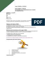 Modelos de Control COSO y COCO