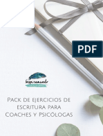 Pack de Ejercicios de Escritura