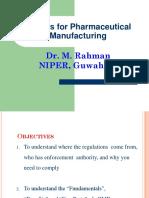 Session 1 GMP-Dr M Rahman