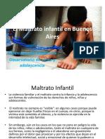 El Maltrato Infantil en Buenos Aires
