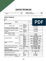 Datos Tecnicos