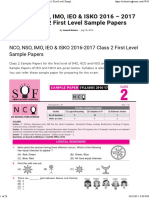 226 2017 Class 2 First Level Sample Papers _ AglaSem Schools)