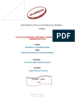Monografia Destino Estrategico de Una Empresa Yangua