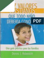 Diez valores cristianos que todo niño debería conocer.pdf