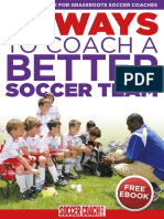 27 Ways to Coach a Better Soccer Team