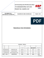 NGP 000 ELE 15.08 0007-00-00 Hazardous Area Schedules