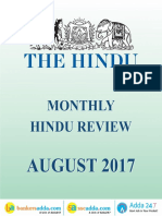 The Hindu Review August 2017