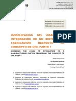Modelización Del Grado de Integración de Un Sistema de Fabricación Respecto Al Concepto de Cim