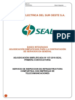 BASES Integradas Infraestructura Compartida