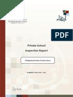 ADEC - Philippine Emirates Private School 2016-2017