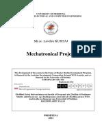 Scripta - Mechatronical Project