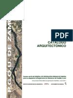 Catalogo Arquitectonico de Edificios Protegidos de Zamora