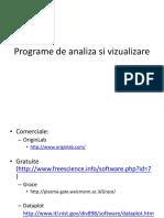 Programe de Analiza Si Vizualizare