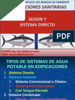 Sesion 7 - Sistema Directo