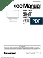 PT-50LCX7K • PT-56LCX70-K • PT-61LCX70-K Factory Service Manual (MKE0706850CEPrintDB)