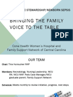 PQCNC ASNS Learning Session - Women's Bringing the Family Voice to the Table