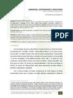 Ives Gandra Da Silva Martins (Liberdade Legitimidade e Legalidade))