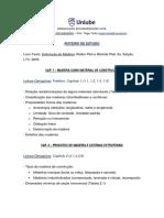 MAD - Cap. 1 a 3 - (Roteiro de Estudo)