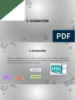 β-oxidación
