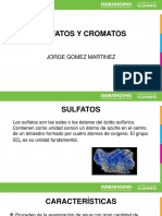 Sulfatos y Cromatos Expo