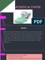 Materi 5. Pharmaceutical Paste