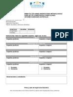 Informe Electronico Primer Taller Orientaciones Metodologicas