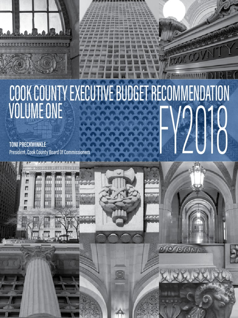 cook county executive budget recommendation fy 2018 taxes inflation