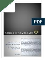 Gun Bill ACT 2013-283