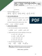 Maths 4eme Annee Ind Et Escom