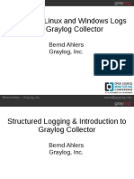 Monitoring Linux and Windows Logs With the Graylog Collector-Bernd Ahlers
